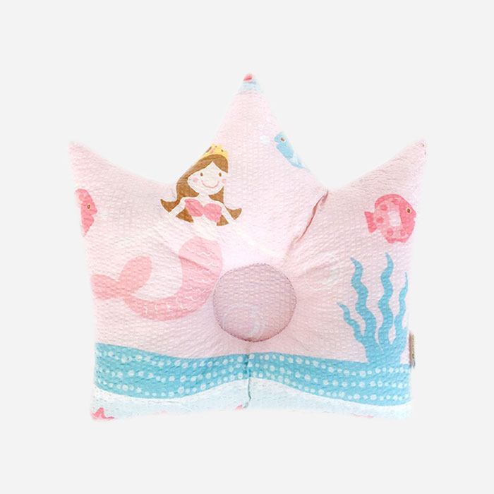 Crown Pillow – Little Mermaid