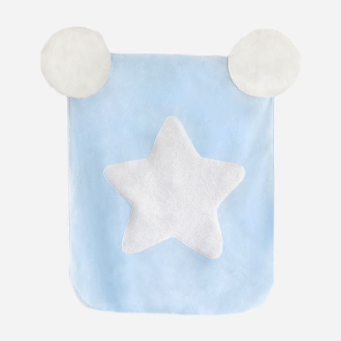 Cotton Candy Blanket - Blue White Star