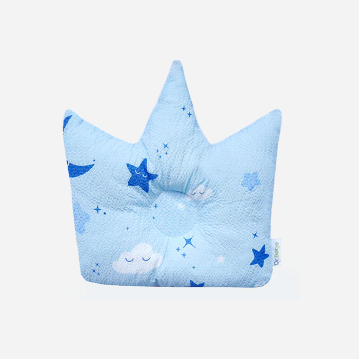Crown Pillow - Moonstar Blue