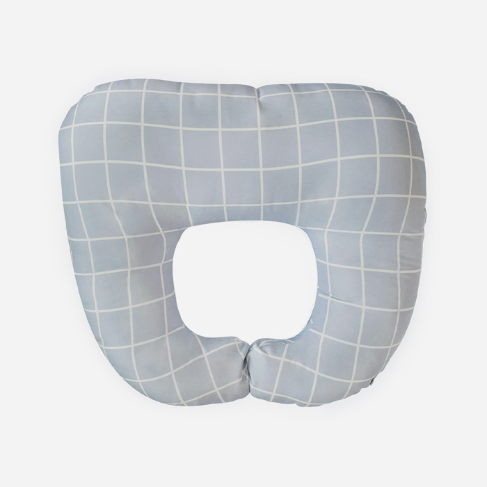Nursing Pillow - Square Grey
