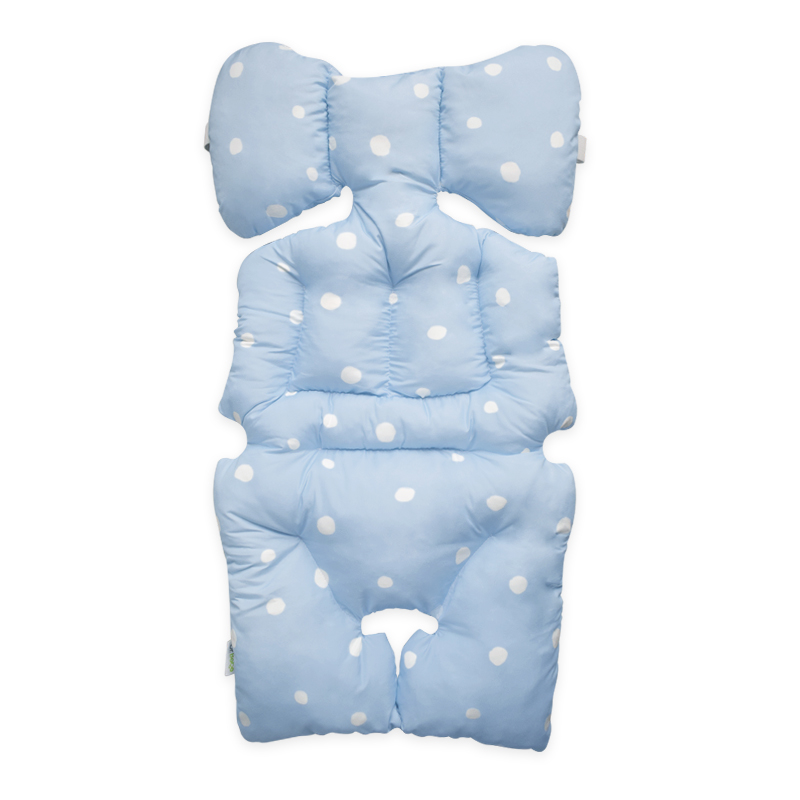 Stroller Pad - Snow Blue
